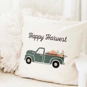Thirty-One Pillow Cover Truck Happy Harvest